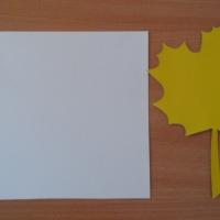 Мастер-класс по пластилинографии «Кленовый лист»
