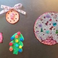 Детский мастер-класс «Магниты в подарок на Новый год»