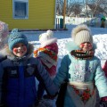 Сценарий фольклорного праздника «Масленичная карусель» для детей всех групп на воздухе