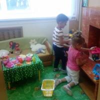 Фототчет «Первые дни в детском саду»