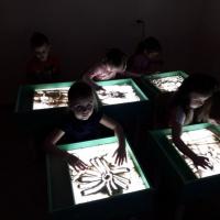 Песочное рисование как средство творческого развития ребенка