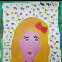 Детский рисунок «Моя мама»