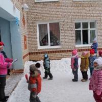 Фотоотчёт «Зимние забавы»