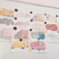 Занятие по рисованию «Наш веселый транспорт»
