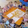 Фотоотчет о коллективной работе детей второй младшей группы «Осень наступила»