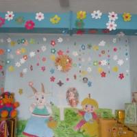 Украшение группы в детском саду