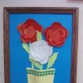 Мастер-класс «Цветы в вазе»