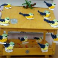 Мастер-класс «Синички— зимующие птички»