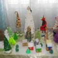 Фотоотчет о выставке «Парад елочек»