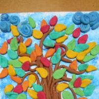 Мастер-класс по изготовлению осеннего дерева из соленого теста «Яркие краски осени»