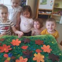 Конспект занятия по рисованию «Цветочная поляна» в средней группе