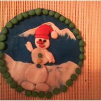Мастер-класс по лепке из пластилина «Снеговик»