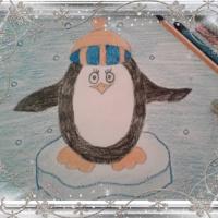 Мастер-класс по изобразительному искусству для детей 5–6 лет «Пингвин»