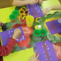 Мастер-класс по рисованию «Деревья зимой» во второй младшей группе