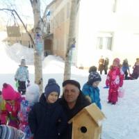 Фотоотчет о детско-родительской акции «Покорми птиц зимой— услышь их пение весной»