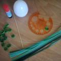 Мастер-класс в технике квиллинг «Пасхальное яичко» с детьми средней группы