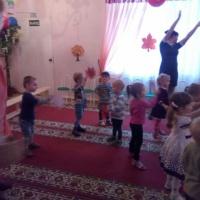 Осеннее развлечение в группе раннего возраста