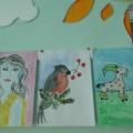 Осень в родном селе рисунки