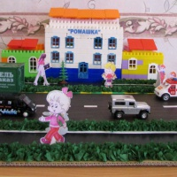 Формирование навыков безопасного поведения дошкольников на дороге посредством использования игрового макета улицы