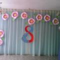 Оформление музыкального зала в детском саду на 8 Марта