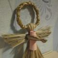 Кукла-оберег из природного материала «Ангел со свитком желаний». Мастер-класс