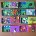 Лепные миниатюры в спичечных коробках (фотоотчет)