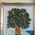 Мастер-класс совместной художественной деятельности в смешанной технике «У лукоморья дуб зеленый»