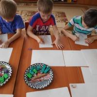 «Гиацинт». Мастер-класс по пластилиновой живописи в подготовительной группе