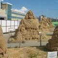 Заочная фотоэкскурсия на выставку песчаных композиций