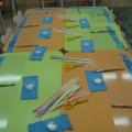 Мастер-класс для родителей. Аппликация «Бабочка». Нетрадиционная <i>цветной</i> техника в работе с полосками бумаги