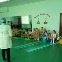Спортивный праздник «День здоровья» совместно с родителями в подготовительной группе