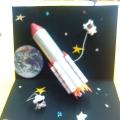 Фотоотчёт. Выставка детских рисунков и поделок «Космос»