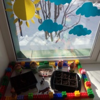 Огород на окне «Веселый огород»