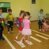 Проектная работа «Дети и дорога» в средней группе