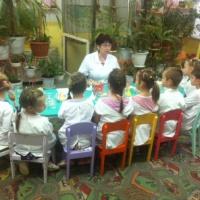 Открытое занятие для родителей в экологической лаборатории «Воздух-невидимка».