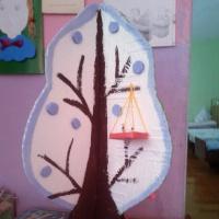 Макет «Дерево «Время года»