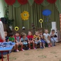 Конспект занятия по приобщению детей к народной культуре родного края через песенно-игровые традиции