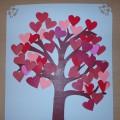 «Дерево из сердечек». Мастер-класс по изготовлению поделки ко Дню святого Валентина