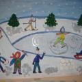 Конспект НОД по художественно-эстетическому развитию в подготовительной группе «Что нам нравится зимой»