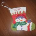 Фотоотчет поделок для конкурса «Волшебный новогодний сапожок»