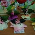 Поделка к 8 марта «Фея цветов» (старшая группа)