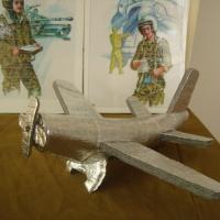 Фотоотчет о выставке родителей и детей второй младшей группы «Выставка военной техники»