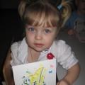 Нетрадиционные техники рисования с детьми младшего возраста «Мимоза»
