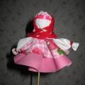 Народная кукла Хороводница-мудрый тренажёр предков для развития мелкой моторики рук. Мастер-класс.