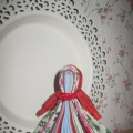 Тряпичная кукла Северная Берегиня и её изготовление