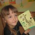 «У жирафа пятнышки везде». Мастер-класс по нетрадиционным техникам рисования с детьми среднего дошкольного возраста