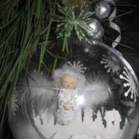 Новогоднее творчество «Рождественский шар»