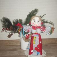 По мотивам народной куклы мастерим Масленицу