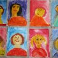 Рисование по представлению в подготовительной группе «Портрет мамы»