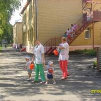 Фотоотчет «Пожарные учения в Доме ребенка»